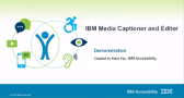 IBM Media and Caption Editor