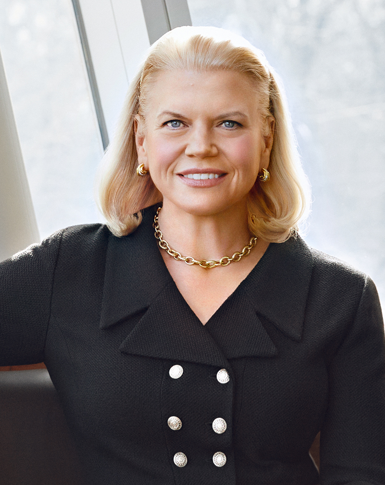 Ginni Rometty Chairman, President, and CEO IBM