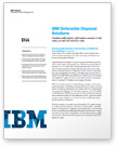Solution brief: IBM Defensible Disposal Solutions