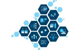 차트에서는 Watson Analytics가 보험업체에 제공할 수 있는 보험 솔루션 데이터 및 코그너티브 기능의 종류를 보여줍니다.
