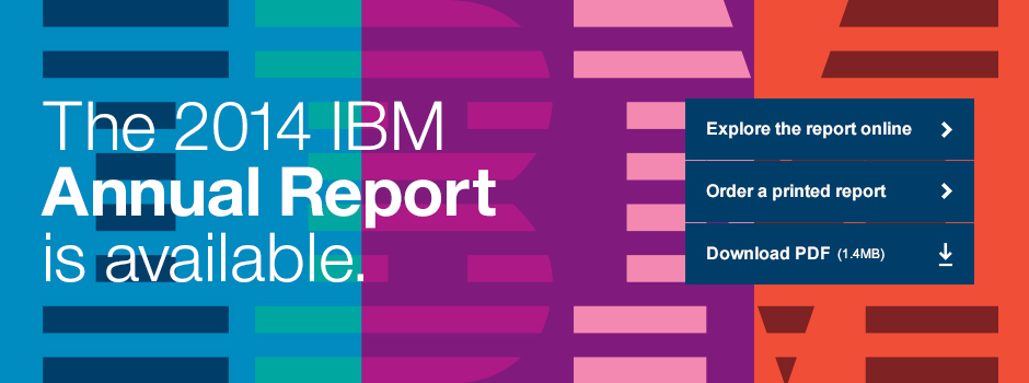 ibm annual report 2014 pdf