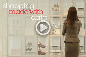 Watch the video : shopping made with data