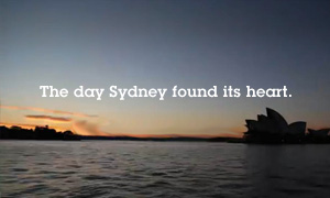 The day Sydney found its heart.