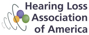 Hearing Loss Association of America logo.