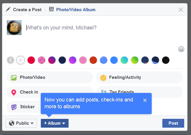 Image of a Facebook comment box.