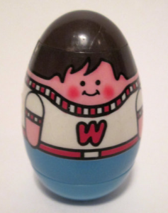 Photo of a Weeble Wobble.