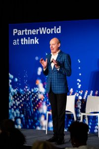 PartnerWorld at Think speaker