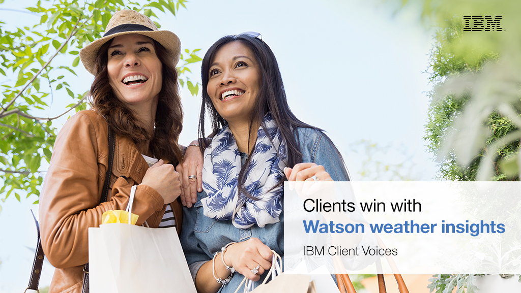 Watson weather insights