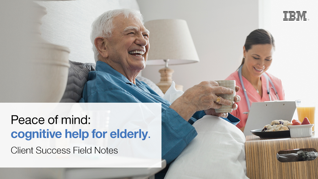 Alerts from IoT devices can now notify caregivers and family members, changing healthcare for the elderly.