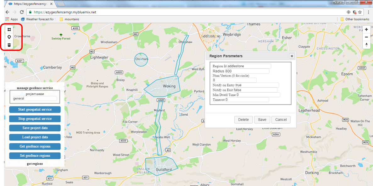 Whip up a GUI for Geospatial Analytics with this Watson IoT