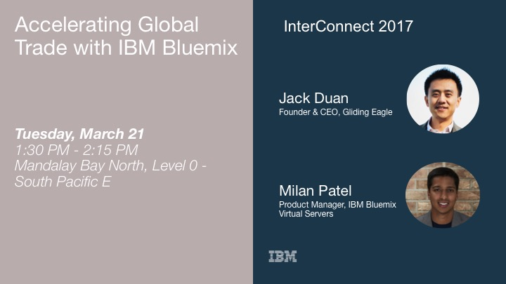 Accelerating Global Trade with IBM Bluemix