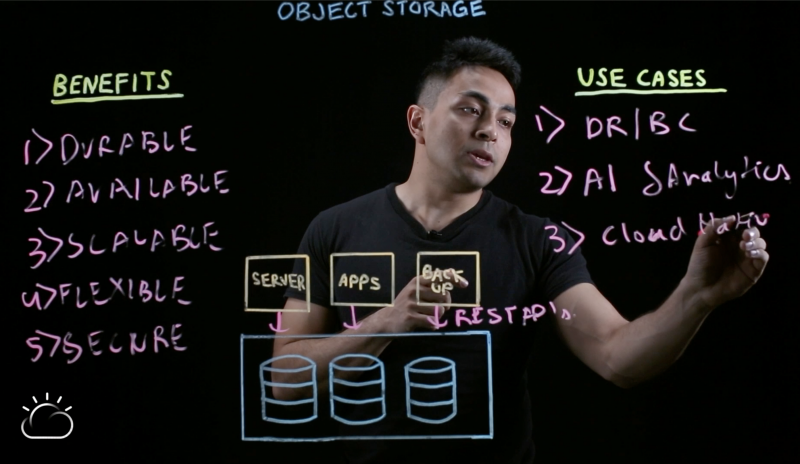 Object storage and cloud-native