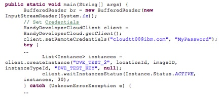 creating java code using the handy command line and java