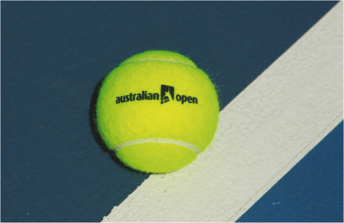 australian open tennis ball