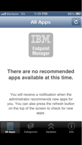 ibm endpoint manager app