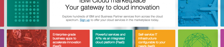 IBM Cloud marketplace 1