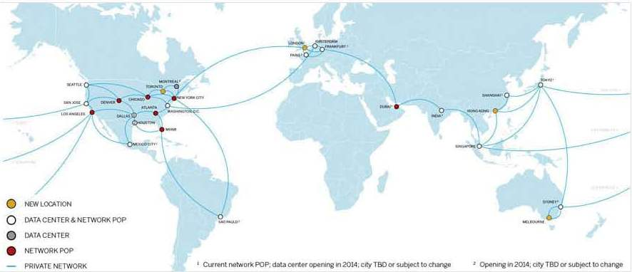 Ibm softlayer comes ashore in australia cloud computing news softlayer map gumiabroncs Choice Image