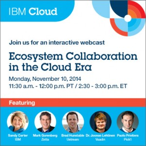Ecosystem Collaboration in the Cloud Era