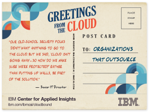 Outsourcing in the cloud