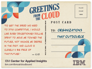 Outsourcing in the cloud CIO