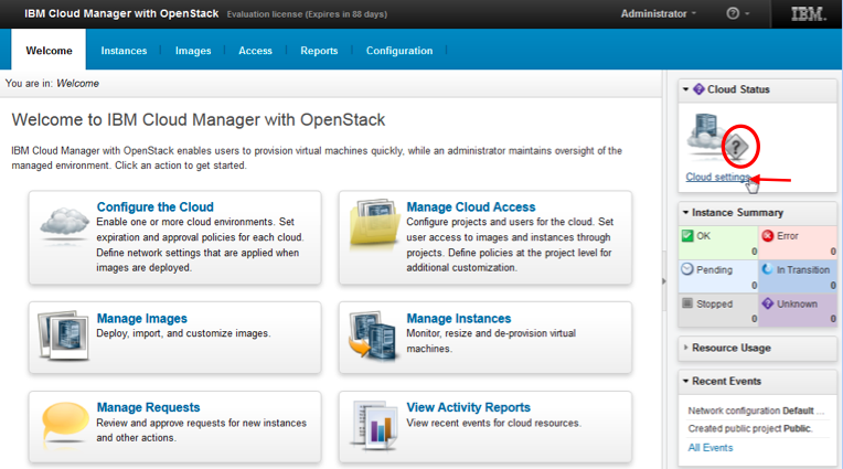 IBM Cloud Manager with OpenStack