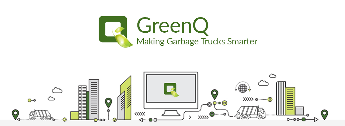 GreenQ Internet of Garbage Bluemix