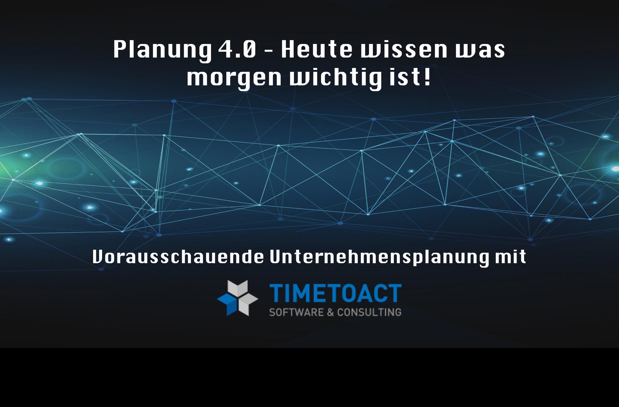 Planung 4.0Titelbild