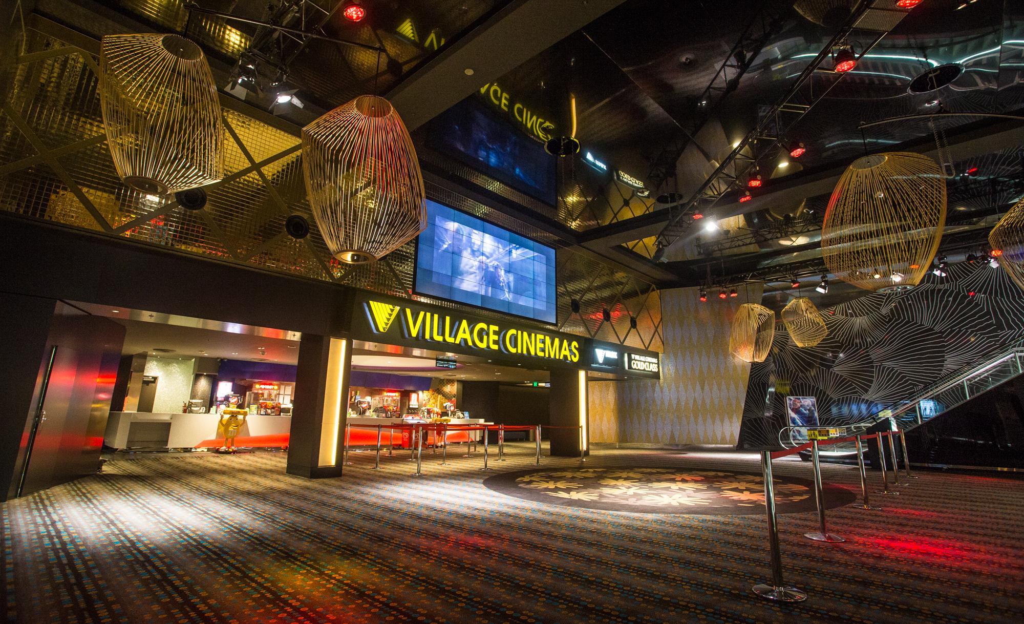 Village Cinema Foyer