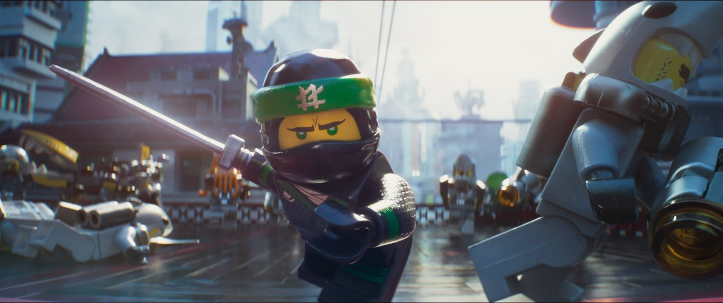 LEGO Ninjago Movie - lego ninja in action