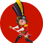 Nutcracker soldier character