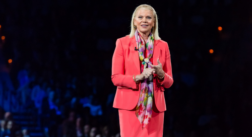 IBM Chairman, President and CEO, Ginni Rometty