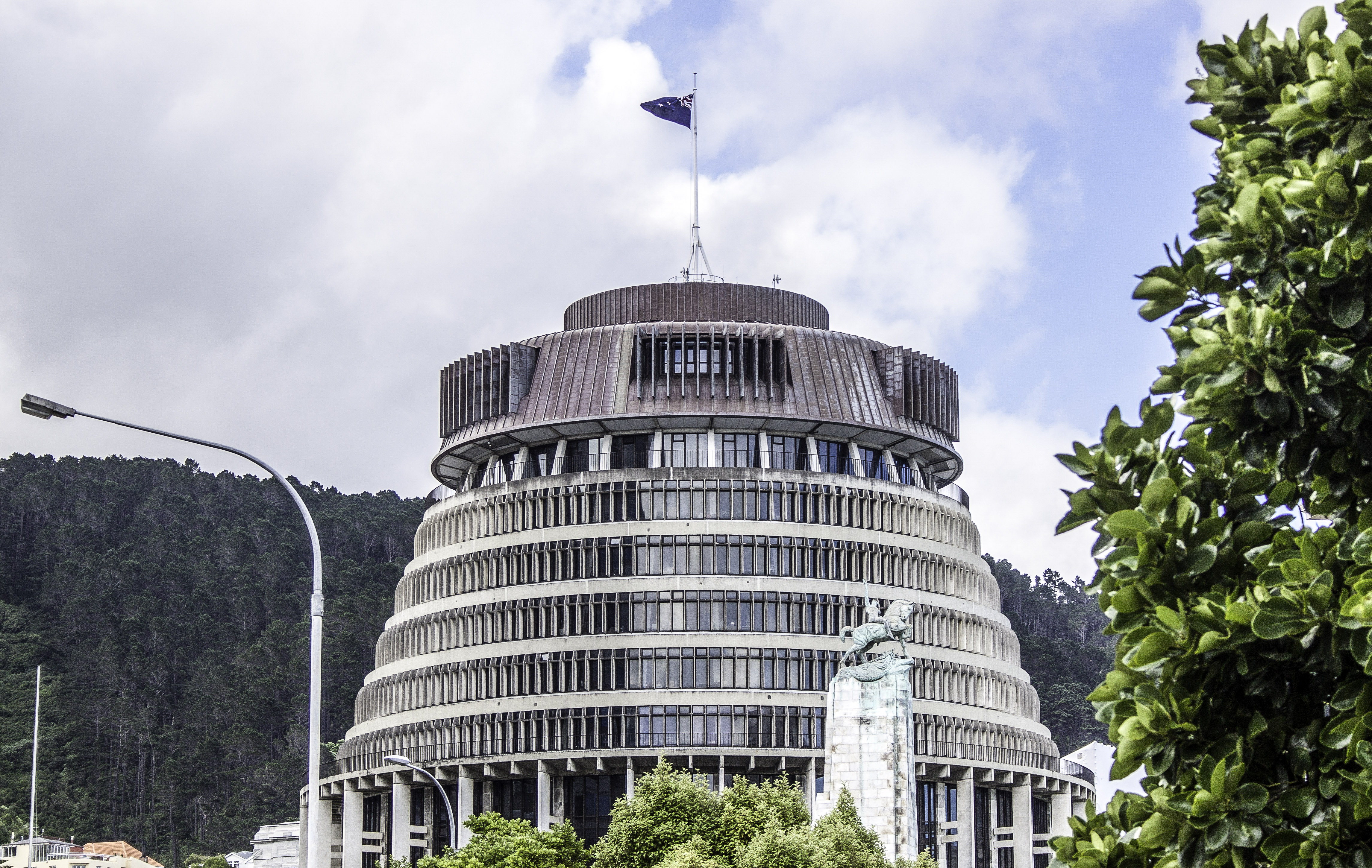 The Beehive - Executive Wing, New Zealand Parliament