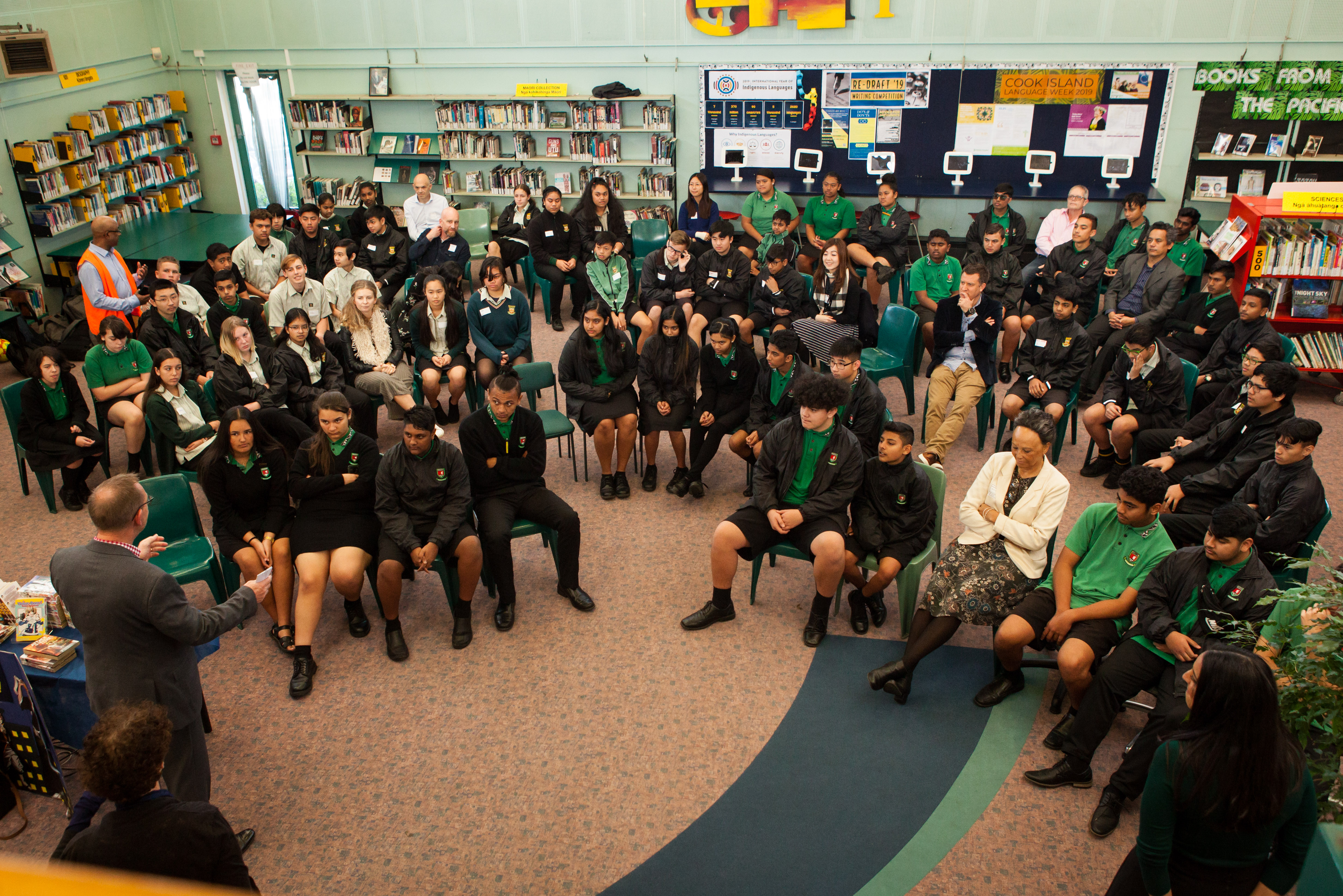 Manurewa High School in South Auckland