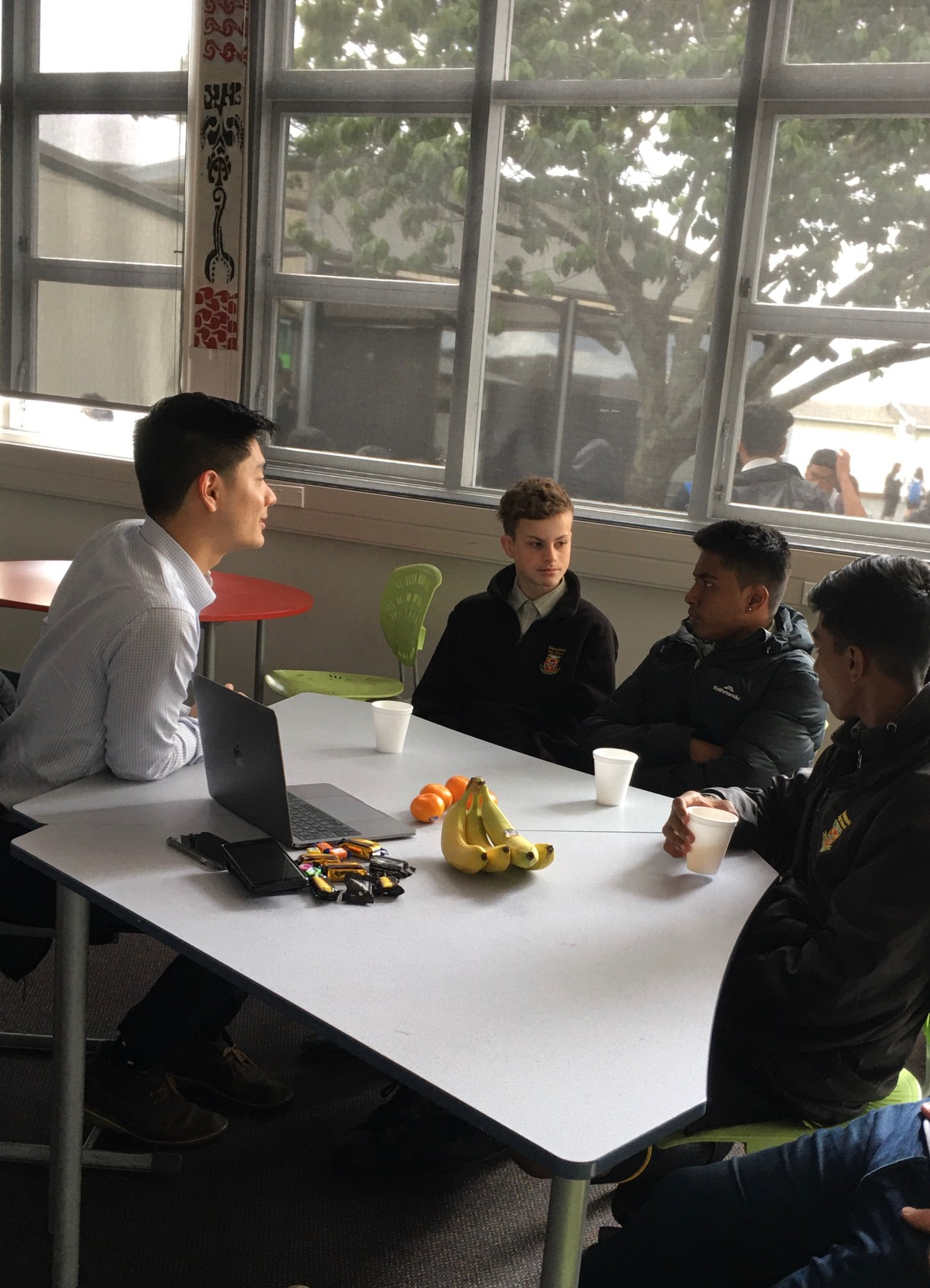 Students from Manurewa High School