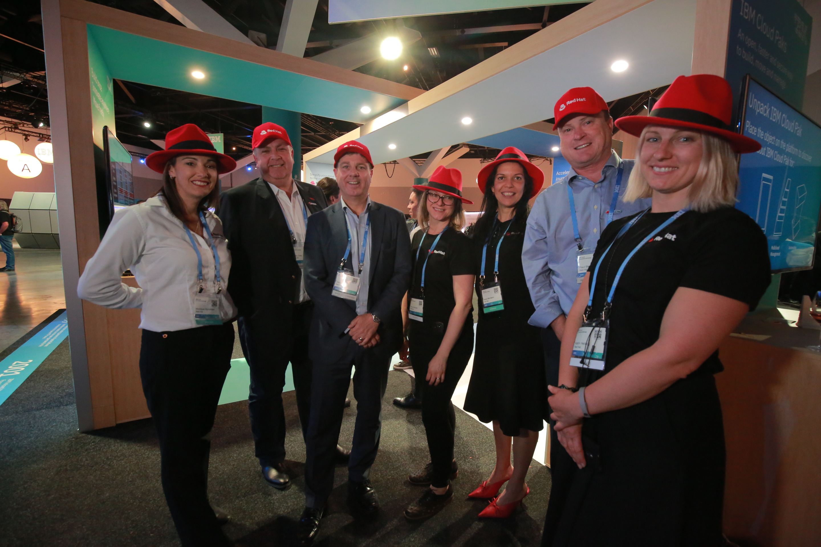 The Red Hat team