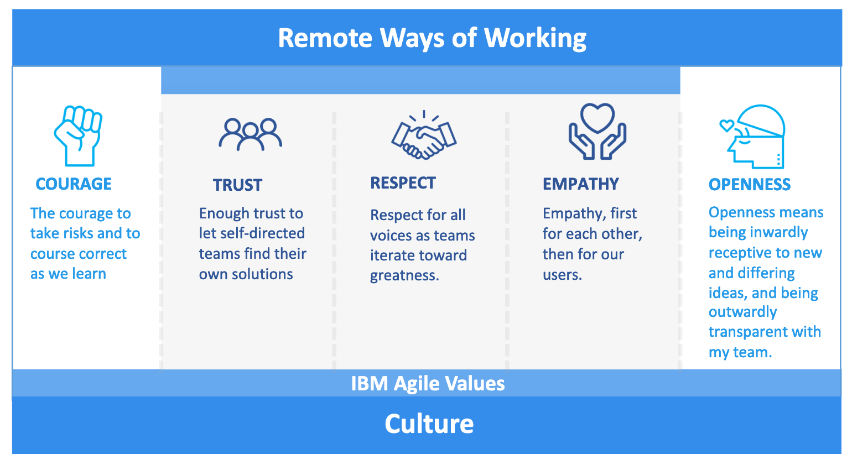 IBM Agile values