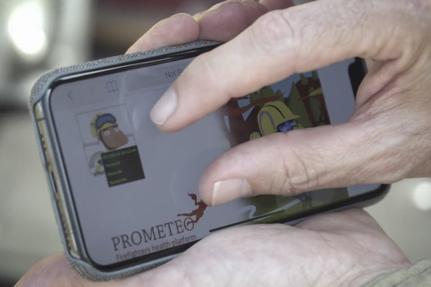 Dispositif prometeo pour pompiers