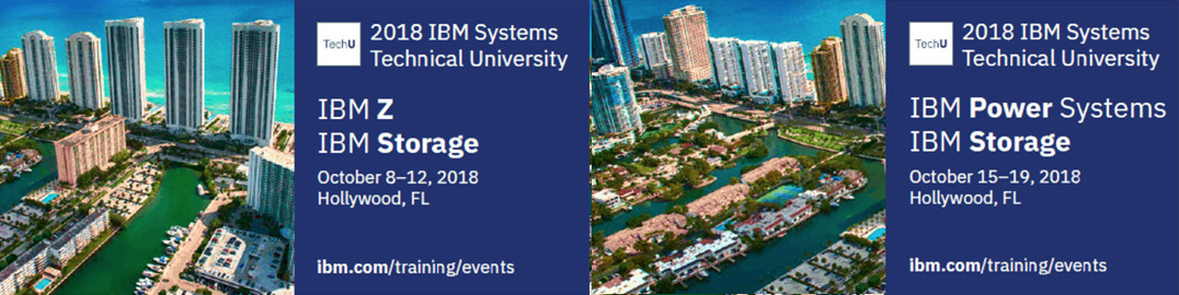 Our First Us Event Wred Up In Early May Orlando Next Are Two Techu Events Hollywood Fl Each Focus On A Specific Ibm Systems Platform