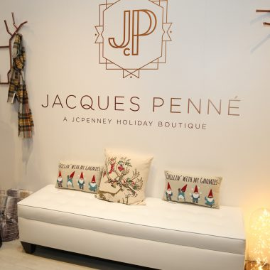 Jacques Penné, a J. C. Penney Holiday Boutique. Photo by Mark Von Holden/Invision for JCPenney/AP Images.