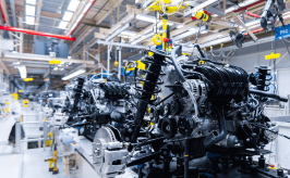 Auto assembly line in smart factory