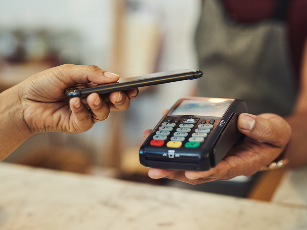 a wireless payments transaction