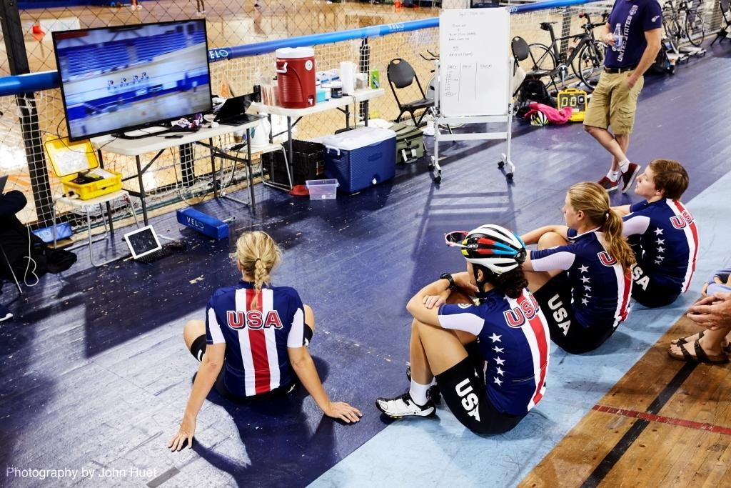 usa cycling team review their performance