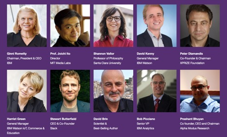 World of Watson 2016 speakers list