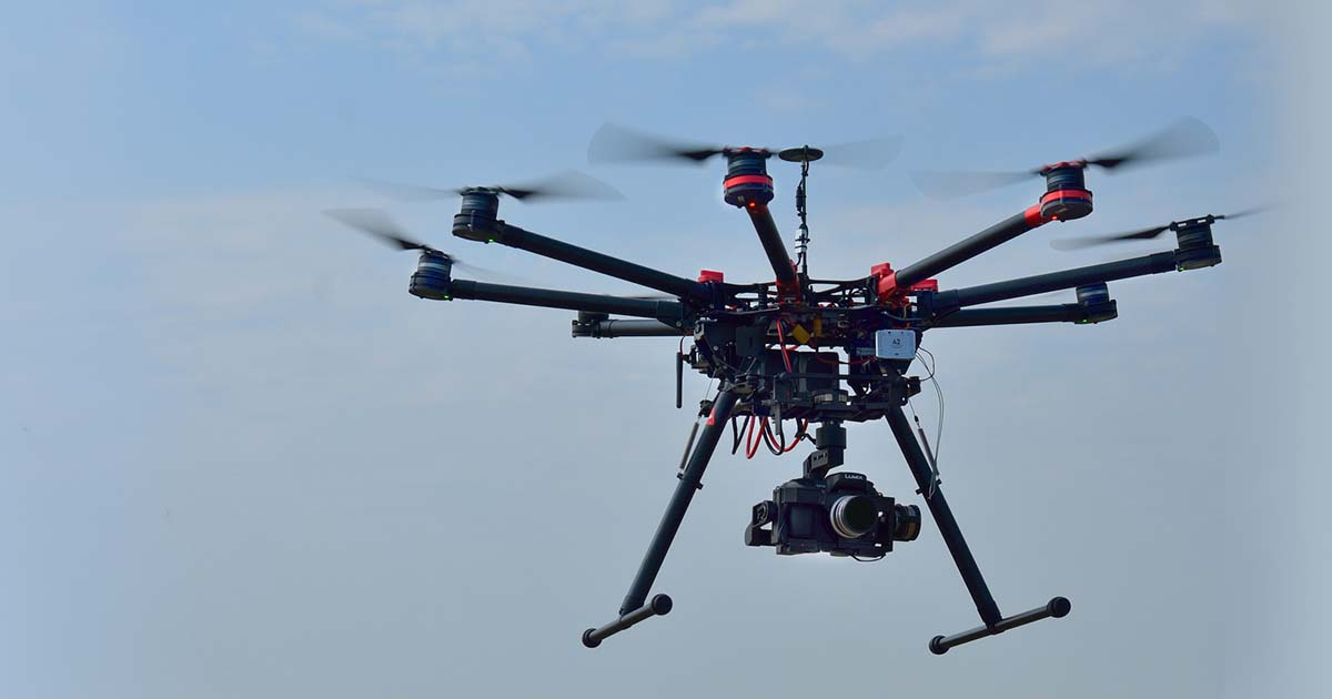 The cognitive drone and the promise of IoT - Internet of