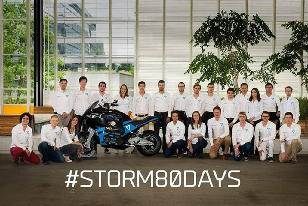 stormpulse electric motorcycle team