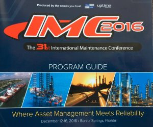 banner for the 31st international maintenance conference