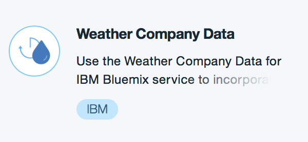 Weather Company Data