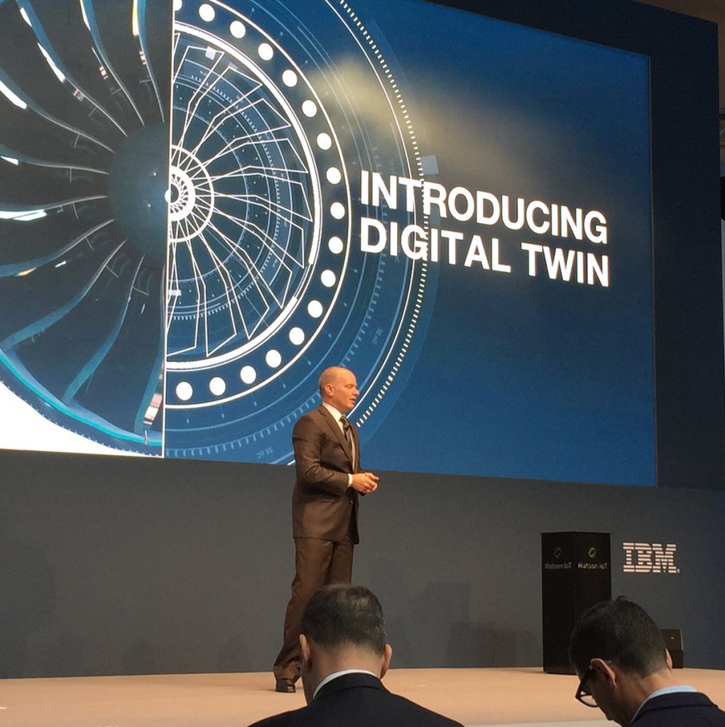 Chris O'Connor GM Watson IoT Offerings discusses digital twin at the Watson IoT Genius of Things event