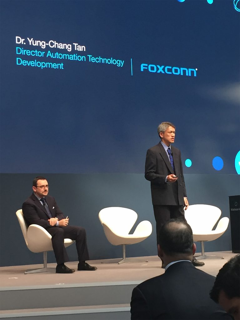 Dr. Yung-Chang Tan speaks at IBM Watson IoT's Genius of Things event