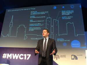 IBM's Deon Newman at Mobile World Congress 2017